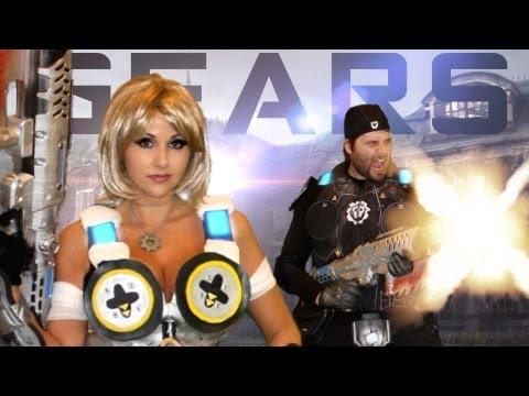 Gears Of War - Mad World Uprising! Gears Of War 3 Parody video