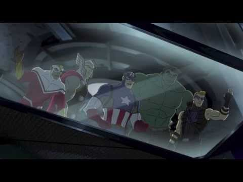 Marvel's Avengers Assemble Season 1 Episode 22 Guardians and the Space Knights Clip