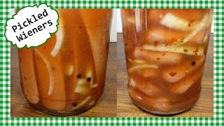 Hot ~N~ Spicy Pickled Wieners Recipe ~ Hot Dogs or Sausages