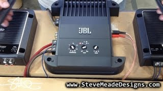 JBL GTO-501EZ Mono Amplifier vs. SMD Distortion Detector DD-1 (Results / opinion)
