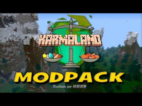 Modpack KARMALAND   Cliente y Server   Minecraft 1.7.2   HEBERON