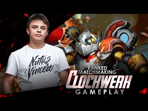 NaVi Funn1k  Clockwerk MMR Gameplay