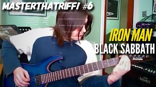 """Iron Man"" by Black Sabbath - Guitar Lesson w/TAB - MasterThatRiff 6!"