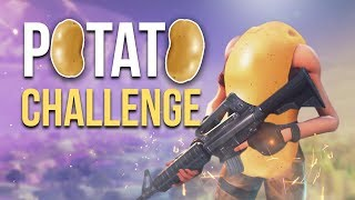 POTATO CHALLENGE (Fortnite)