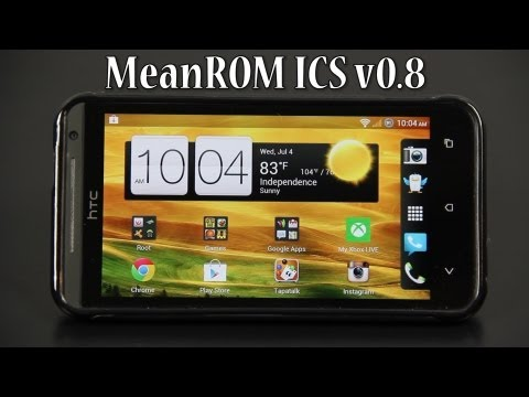 MeanROM ICS FULL Review on the HTC EVO 4G LTE