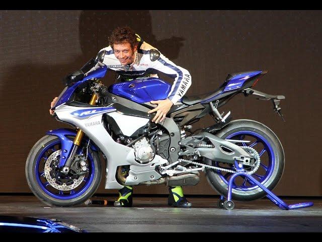 Vid�o Yamaha YZF-R1 2015 : 200 ch, 199 kg et un ABS semi int�gral !
