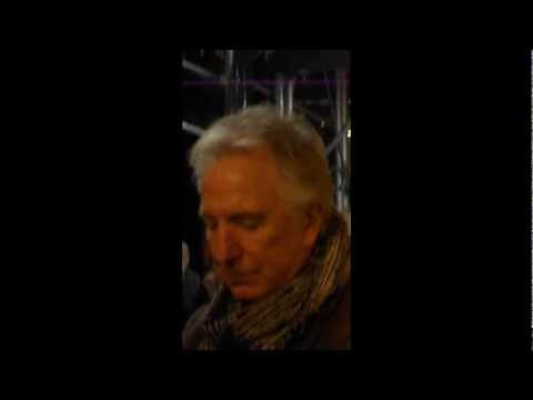 A little taster of my experience seeing Alan Rickman ...
