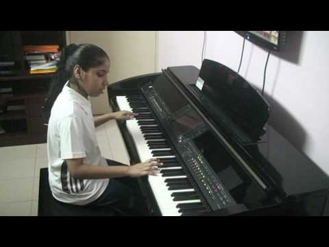 Nandini playing on CVP 409PE Jab Koi Baat Bigad Jaaye from hindi...