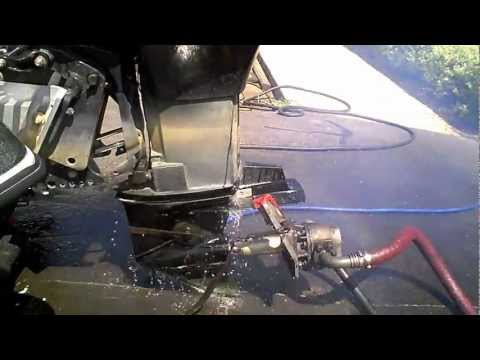 1995 mercury 225 hp offshore outboard running and for Yamaha outboard compression test results