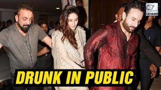 Bollywood Actors Caught DRUNK In Public   Kareena Kapoor, Sanjay Dutt   LehrenTV