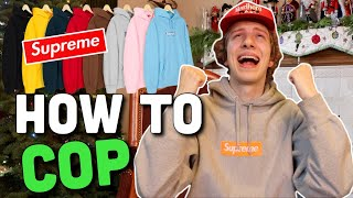 How To Buy The Supreme Box Logo Hoodie (F/W '19)