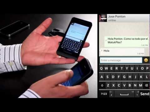 Pasos para instalar WhatsApp en BlackBerry 10