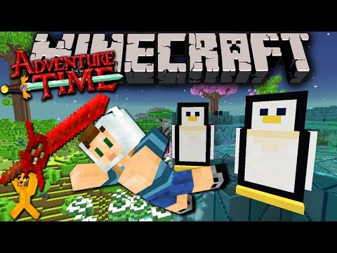Minecraft: Adventure Time Frozen Pirate Sword Trapped in Twilight Forest Episode 4