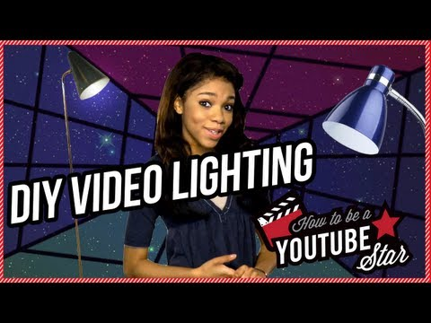 DIY Video Lighting - How To Be A YouTube Star Ep. 13
