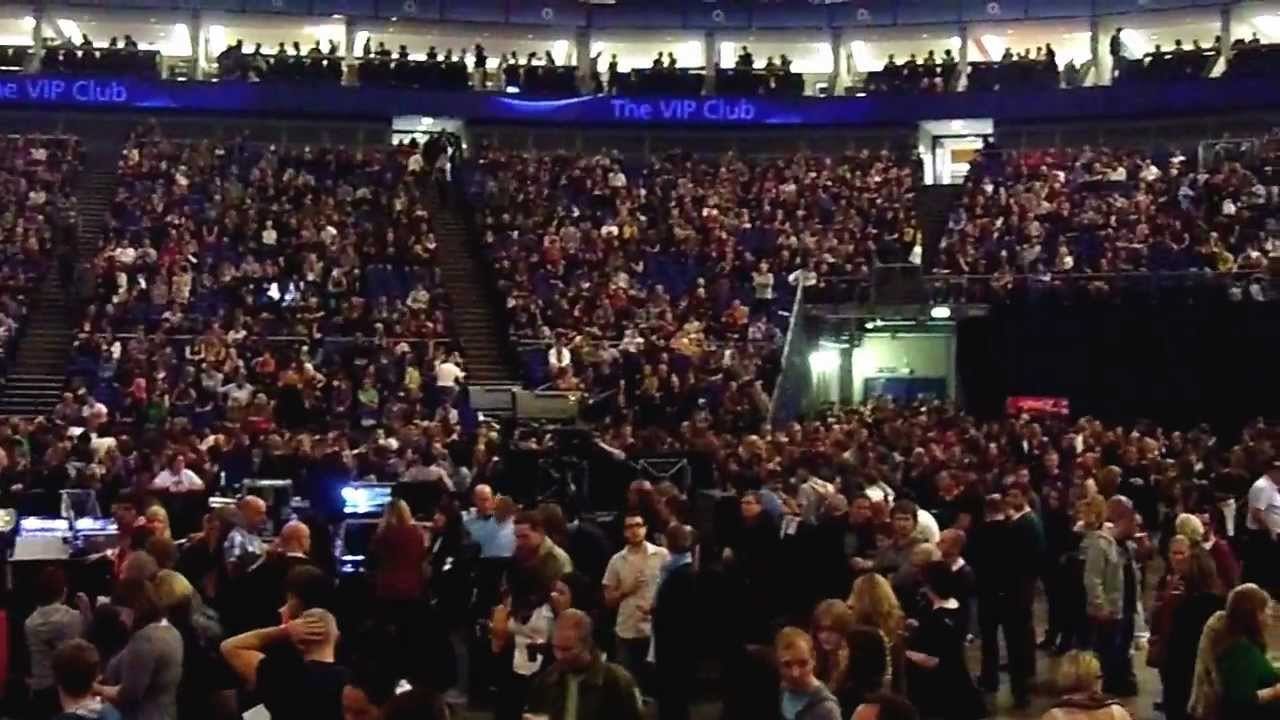 Block 101 Row x o2 Arena o2 Arena View From Block 103