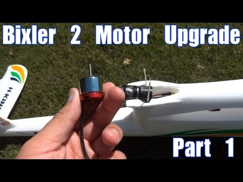 Bixler 2 Motor Upgrade (Part 1)