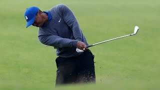 Watch: Tiger's full first round at the 2019 Open Championship