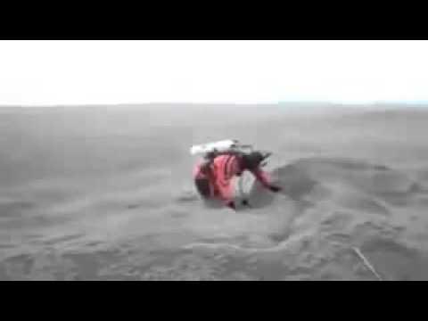 heboh, lautan pasir di arab yang berombak