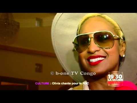 La Star Americaine Olivia ft Papa Wemba et Lokua pour le Congo