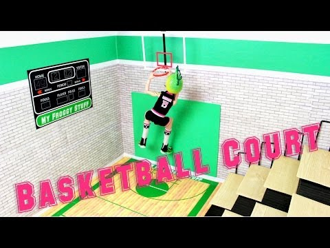 How to Make a Doll Basketball Court