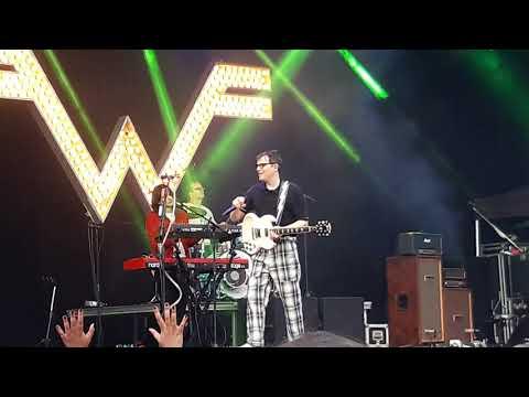 Weezer - Africa Gröna Lund Stockholm Juli 2019