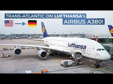 [Tripreport] | JFK-FRA-VIE | Airbus A380 | Lufthansa Economy Class