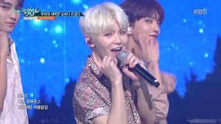 뮤직뱅크 Music Bank -우리의 새벽은 낮보다 뜨겁다 - 세븐틴(SEVENTEEN).20180720