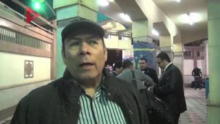 الفخراني وعبدالغفور وأبوزهرة ونجوم الفن في عزاء محمد وفيق