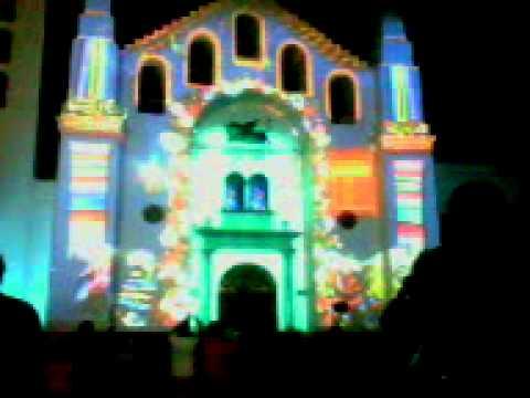 Proyeccion Catedral Tuxtla Proyecciones en la Catedral de