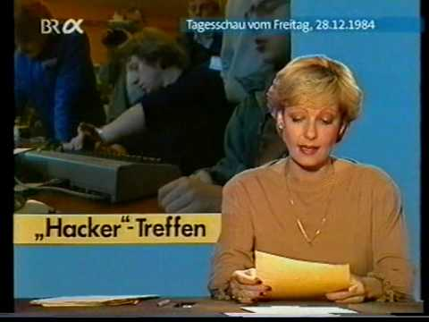 Chaos Computer Club -Treffen ( 1984 ) !