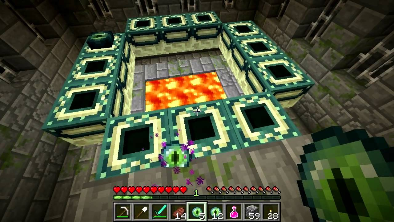 how to create a end portal in minecraft