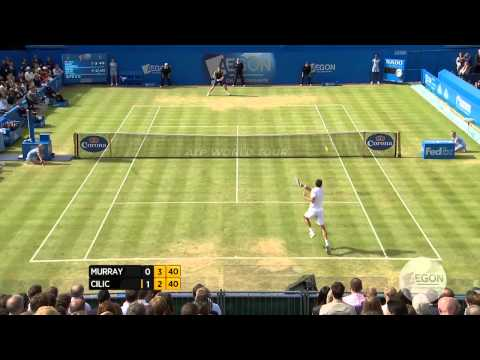 London Queens 2013 Final Highlights Murray Cilic