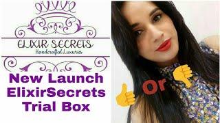 *New * Elixir Secrets Trial Box | Unboxing & Honest Review | Discount Code | Instagram Giveaway Open
