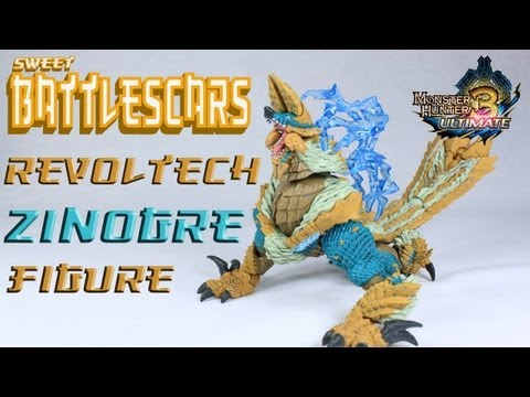 REVOLTECH ZINOGRE - FIGURE - UNBOXING AND REVIEW