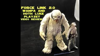 Hasbro Force Link 2.0 Wampa and Hoth Luke Set