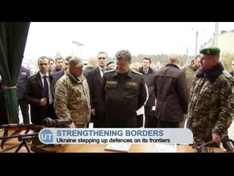 Ukraine Defending Europe's Eastern Border: President Poroshenko praises defence of democratic values
