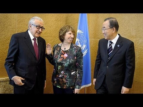Diplomatic spats ahead of Geneva II conference