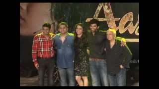 Aashiqui.in - 'Aashiqui 2' Aditya Roy & Shraddha dance to film's music at Mumbai concert
