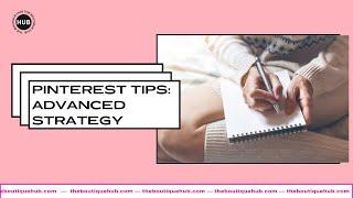 Boutique Chat #032 | Pinterest Tips: Advanced Strategy + Promoted Pins | McKayla Amundsen