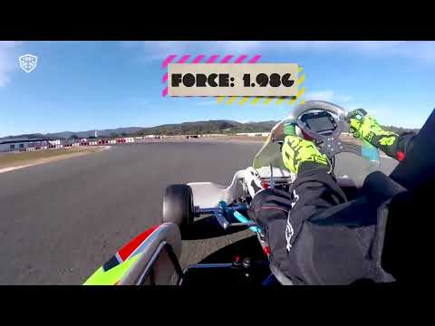 Valencia Kartodromo Onboard - Mari Boya RaceBox Show 250119