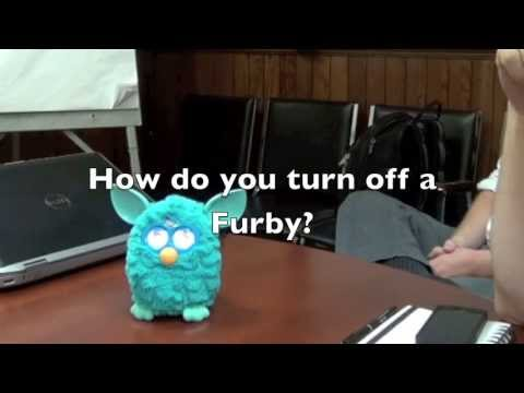 Furby: 2012 (Longer video. with more details)