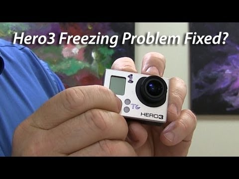 GoPro Hero3 Freezing Problem Fixed?