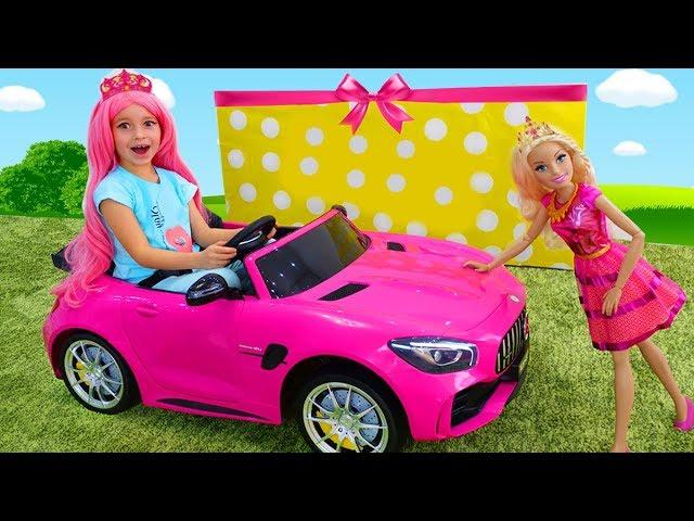 София как Барби наряжается и делает макияж и её новая Машина