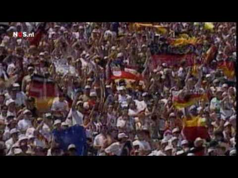 Jurgen Klinsmann Germany vs South Korea 1-0 First Round World Cup 1994 Dutch commentary