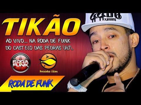 MC Tikão :: Vídeo Sensacional Ao Vivo na Roda de Funk do Rio