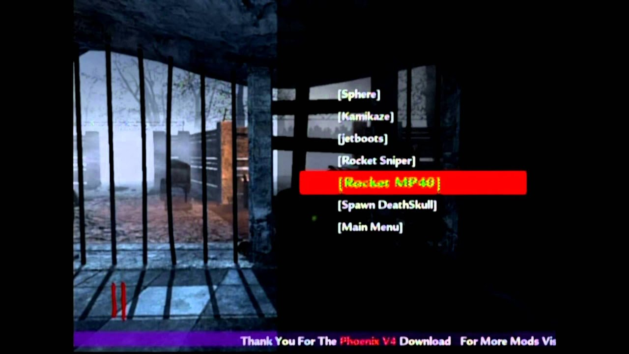 Cod 5 Zombies Modz Mod Menu PS3 ZM. Запрос товара.