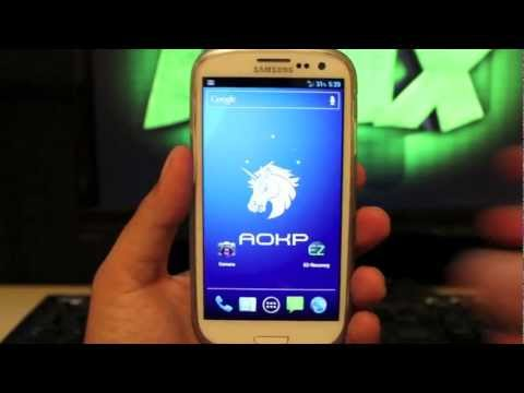 Verizon Galaxy S III AOKP Android Open Kang Project Install [Full Review]