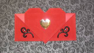 Origami: Heart Envelope