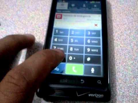 Motorola DROID 2 Global UNLOCK code not work