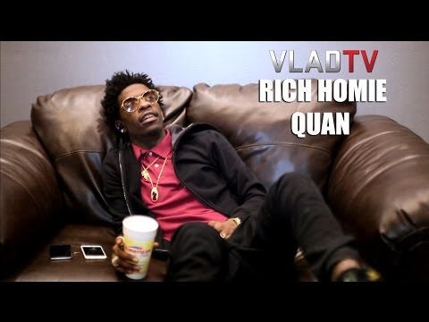 Rich Homie Quan Gets Request From Fan: grip My Girl's A** Bro! video